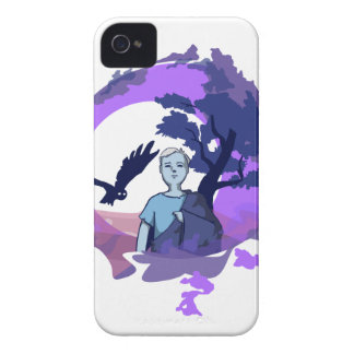Child with blanket in the dream country iPhone 4 Case-Mate case
