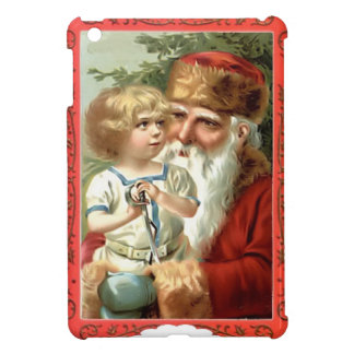 Child  with Santa Case For The iPad Mini
