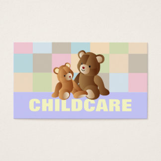 Childcare business cards