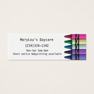 Childcare Daycare Business card
