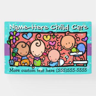 Childcare.Daycare.Pre-School.Customizable Banderoles