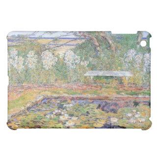 Childe Hassam - A garden on Long Island iPad Mini Cover