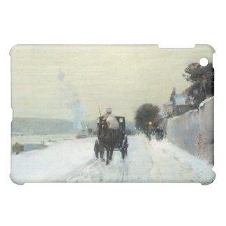 Childe Hassam - Along the Seine Winter iPad Mini Cases