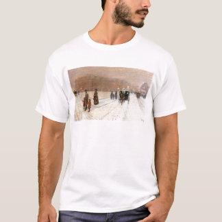 Childe Hassam - An urban fairy tale land T-Shirt