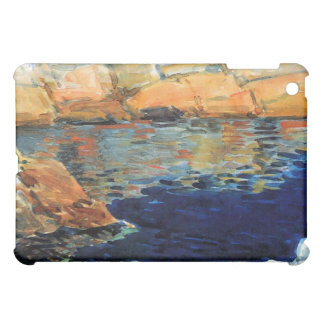 Childe Hassam - Beryl look at the pond Case For The iPad Mini