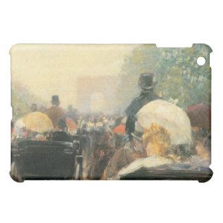Childe Hassam - Carriage Parade iPad Mini Cases