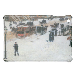 Childe Hassam - Fifth Avenue in Winter Cover For The iPad Mini