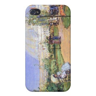 Childe Hassam - House of gardens Worlds Columbian iPhone 4/4S Covers