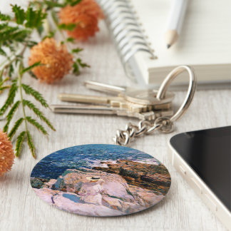 Childe Hassam - South Ledges Appledore Keychain