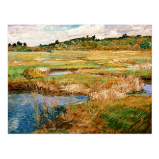 Childe Hassam - The Concord Meadow Postcard