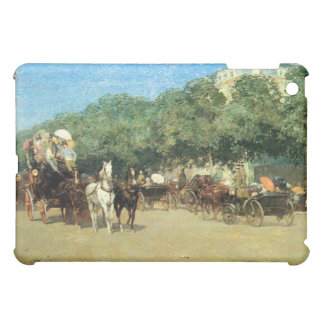 Childe Hassam - The day of the Grand Prize iPad Mini Cover