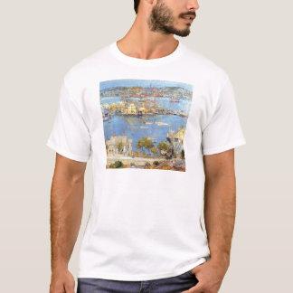 Childe Hassam - The port of Gloucester T-Shirt