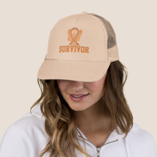 Childhood Brain Cancer Awareness Ribbon Angel Hats