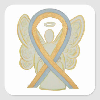Childhood Brain Cancer Awareness Ribbon Stickers