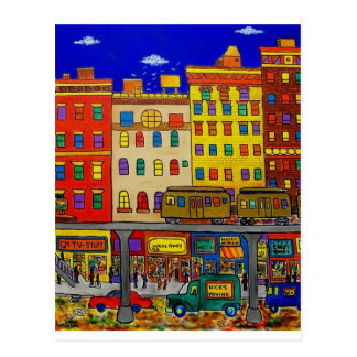 Childhood Bronx 6 by Piliero Postcard
