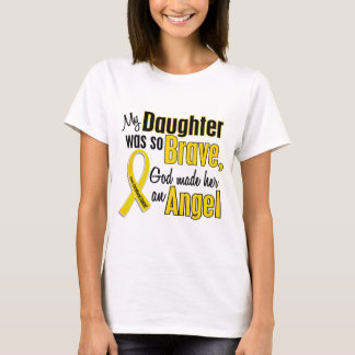 Childhood Cancer ANGEL 1 Daughter T-Shirt