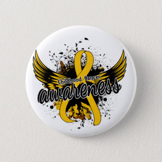 Childhood Cancer Awareness 16 2 Inch Round Button
