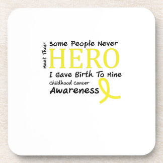 Childhood Cancer Awareness Meet My Hero Fightings Coaster
