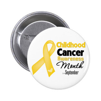 Childhood Cancer Awareness Month 2 Inch Round Button