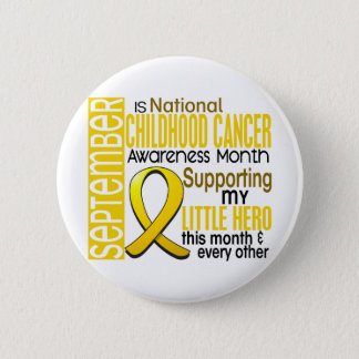 Childhood Cancer Awareness Month Ribbon I2 1 2 Inch Round Button