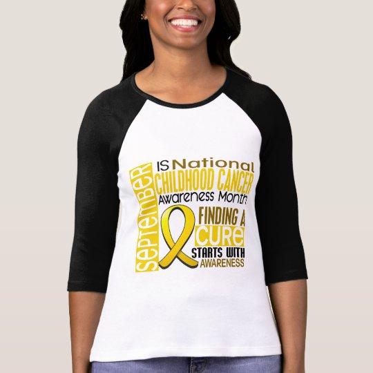 Childhood Cancer Awareness Month Ribbon I2 1.5 T-Shirt