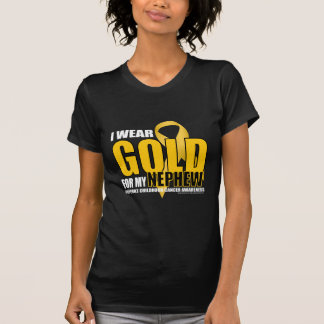 Childhood Cancer Gold for Nephew T-Shirt