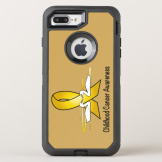 Childhood Cancer Lighthouse of Hope OtterBox Defender iPhone 7 Plus Case