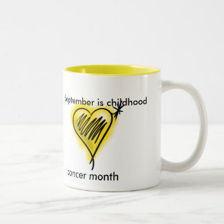Childhood cancer month mug