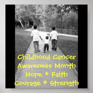 Childhood Cancer.. Poster