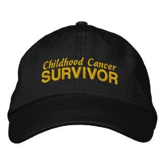 Childhood Cancer Survivor Embroidered Hat
