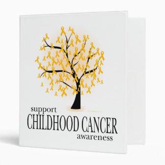 Childhood Cancer Tree 3 Ring Binders