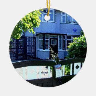 Childhood home of John Lennon Ceramic Ornament