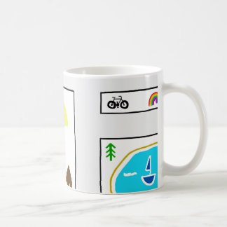 Childhood Map Coffee Mug