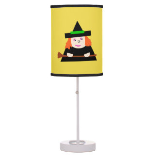 Childish Abajur Halloween Day of the Bruxinhas Table Lamp
