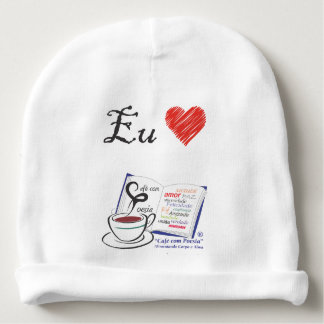 Childish beret 1 Love Coffee with Poetry Baby Beanie