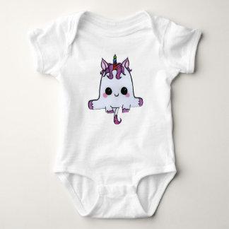 Childish Body prints unicórnio Baby Bodysuit