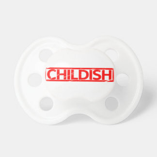 Childish Stamp Pacifier