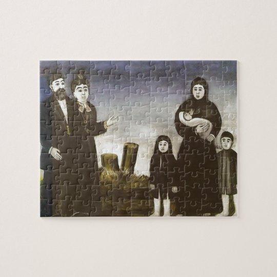 Childless millionaire by Niko Pirosmani Jigsaw Puzzle