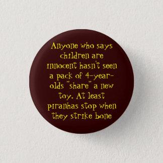 Children 1 Inch Round Button