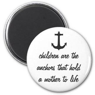 Children Anchor Mothers Magnet