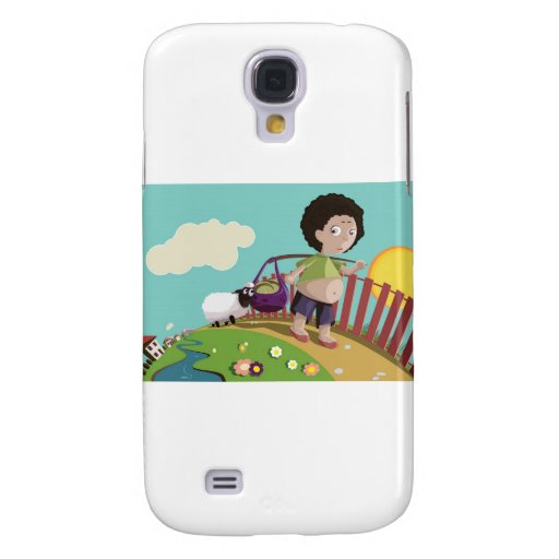 children and the sheep samsung galaxy s4 cases