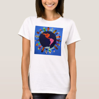 Children around the World Fitted T-Shirt: T-Shirt