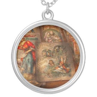 Children - Books - Fairy tales Round Pendant Necklace