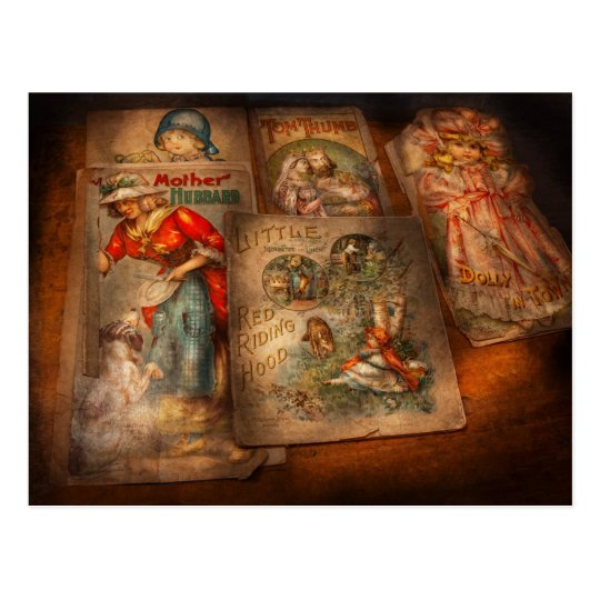 Children - Books - Fairy tales Postcard