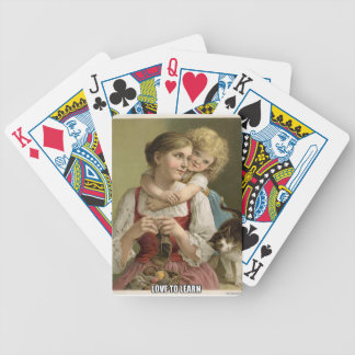 Children Love to Learn Bicycle Playing Cards