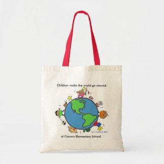 Children Make the World/Personalize/Vera Trembach Tote Bag