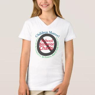 Children Matter Parents Against Behaviour Charts T-Shirt