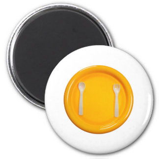 Children meal time 2 inch round magnet