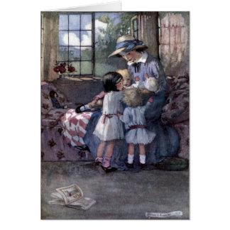 Children Meet Mother & Baby, Card