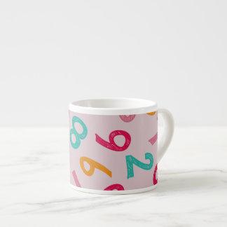 Children Numbers Espresso Mug